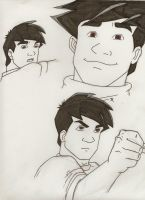 Jackie Chan 2 - WIP by Lonely-Invisible