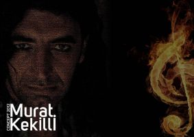 Murat Kekilli Album Cover 2012 Typography by zarifbalci