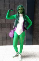 She-Hulk by cirrus-cosplay