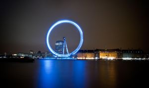 London Eye Long Exposure by sharo