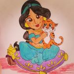 jasmine and rajah by camyjune