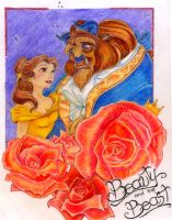 Beauty and the Beast by realmkeyblade