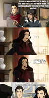 Legend of Korra - Asami, the spy... by yourparodies