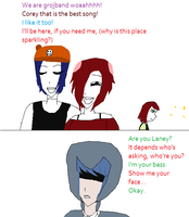 Laney and her jealousy by ilikeamu2