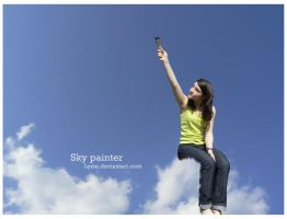 Sky painter by Lyzie
