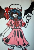 The Scarlet Devil in Sharpie by chakupuchi