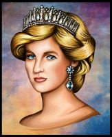 Princess Diana by Artist-in-Despair