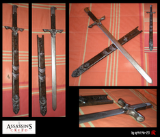 Assasine's Creed II _ Altair's Sword by SP4RT4N-23