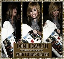 +Demi Lovato by WantUBackRush