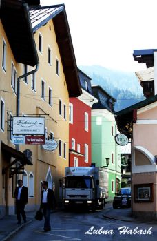 Zell am see village by lubnahabash