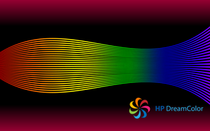 HP DreamColor Wallpaper Wave by tempest790
