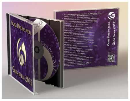 OMS CD design by Dewymo