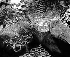Fishy Nasty Visions by tomiatnight