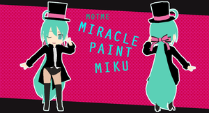 MOTME Miracle Paint Miku by MMD-Rawrz