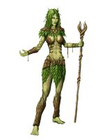 Dryad Druid by JamesDenton
