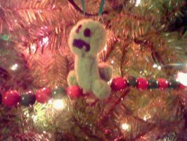 Creeper Christmas Ornament by KeyboardingChihuahua