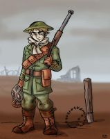 APH - WWI Tommy England by Raax-theIceWarrior