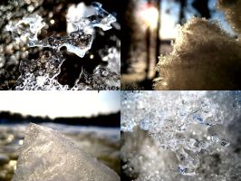 Texture of Ice by Upironetopyr