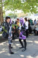 Jack and Tali Mass Effect 3 Cosplay by TheAdelhide