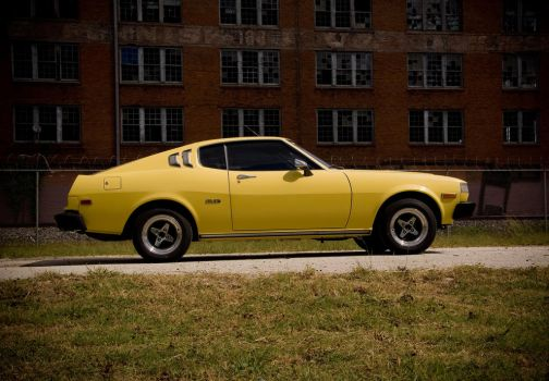 1977 Yellow Celica_III by 3vil-Grin