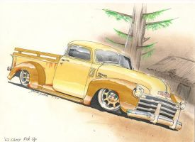 '47 Chevy Pick Up by DominikScherrer