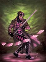 Gambit Collaboration by MikeDimayuga