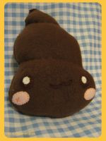 Poo Plush by kickass-peanut
