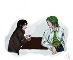 A Green Conversation by Mytherea