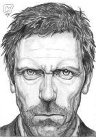 Dr. House by urfavoriteartist
