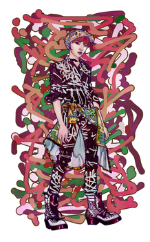 Jeon Jiyoon Fan Art by try1001me