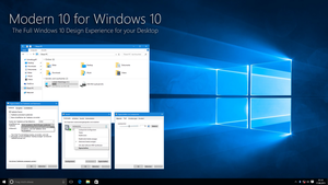 Modern 10 for Windows 10 by IntreppIT