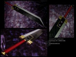 FF7 - CC: Buster Sword by ice-sabre