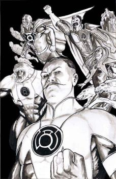 Sinestro Corps by craigcermak