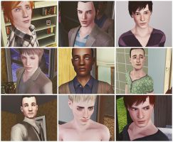 Sims 3 sheet by Fear-Me-December