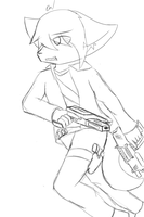 -Quick Sketch- 6 - Weapons Expert by Tukari-G3