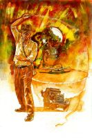 Indiana Jones Masterpieces by markmchaley