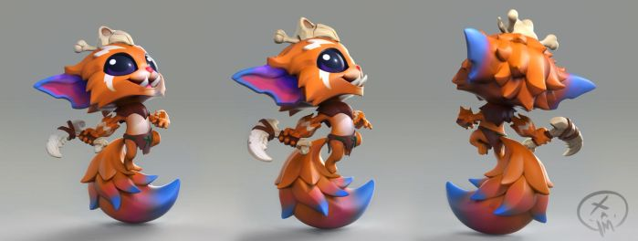 Gnar-RiotMerch-render by Beezul