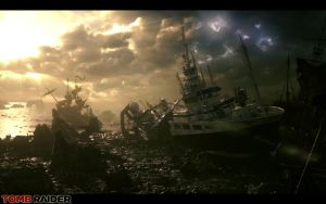 Tomb Raider 2012 - Shipwreck by Rabbidry