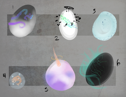 Egg Adoptables 3 LEFT by Railguns