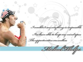 Michael Phelps by Nickyan