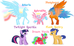Family Of Ethereal Spirits by Author-Bat-Pegasus