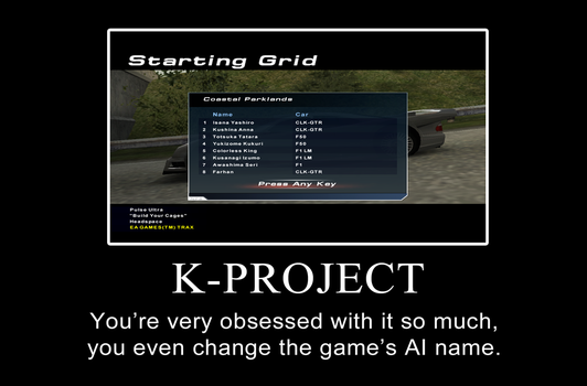 K-Project x Need For Speed: Hot Pursuit 2 by FAT8893