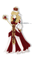 gift for my siss idijacreepy Linnea yhe Queen by AikoLolitaTheWolf