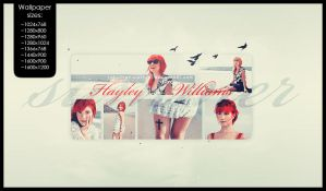 Hayley Williams summer wall by ultraVioletSoul