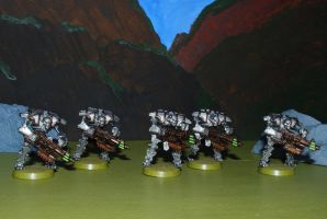 Necron Immortals Green by 12jack12