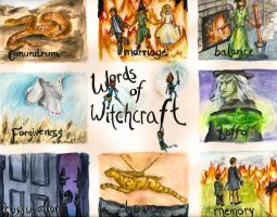 Words Of Witchcraft by oxyderces