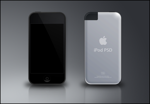 iPod Touch PSD