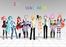 I HAVE 250 WATCHERS by LegolasGimli