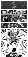 Fist of the NorthStar vs Arishok quick pages by ADE-doodles