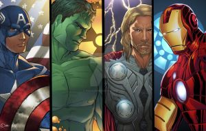 Avengers by sorah-suhng